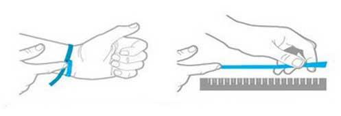 đo cổ tay